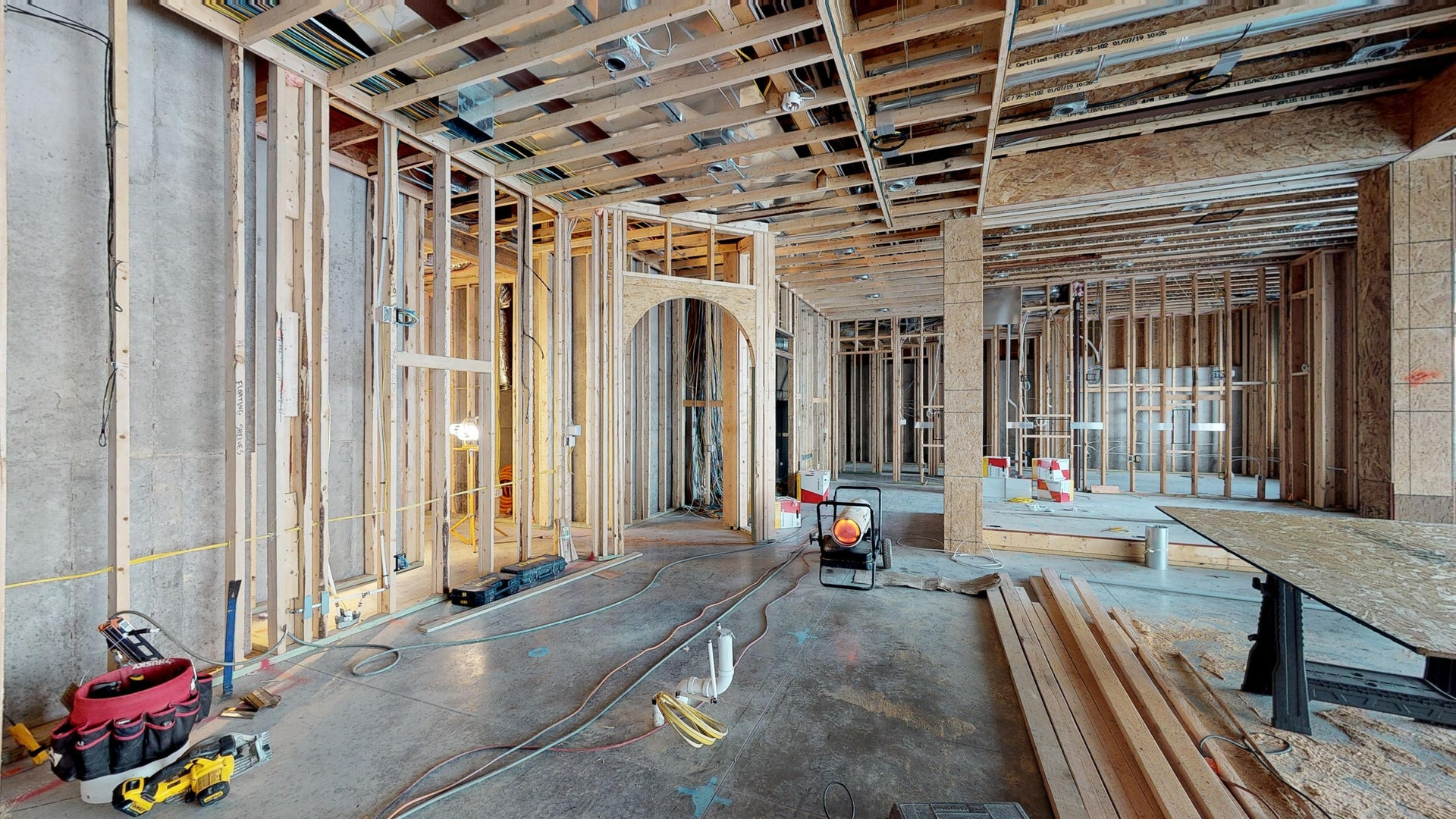 Construction Virtual Tours by Nuvo360